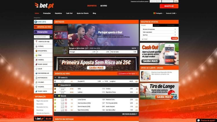 4 Sites de jogo totalmente legais em Portugal